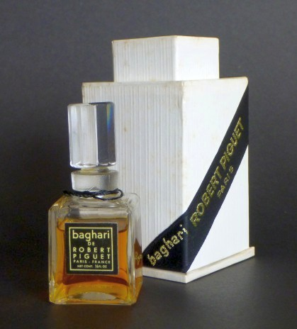 Vintage: Baghari parfum (Robert Piguet)