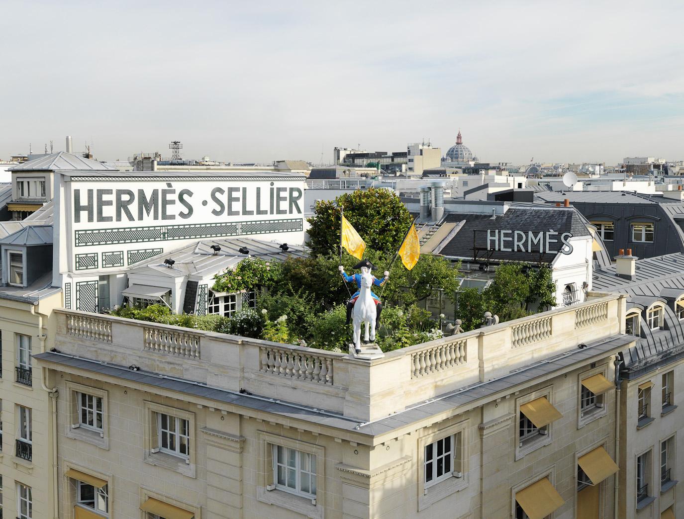 Resenha: Un Jardin sur le Toit, Hermès