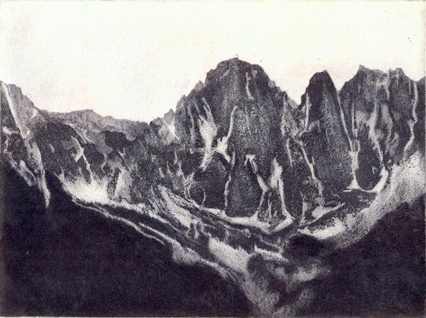 Sierra Nevada Peaks, Ana Dora
