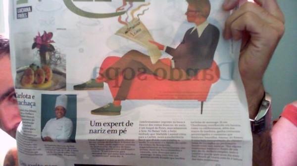 Oi, Rio! O 1 nariz saiu no Globo